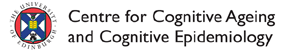 logo of the University of Edinburgh Centre for Cognitive Ageing & Cognitive Epidemiology